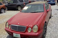 Mercedes-Benz CLK Convertible 2002 Red for sale