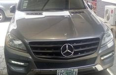 Mercedes-benz ML 350 2012 Gray for sale