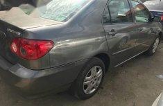 Tokunbo Toyota Corolla 2005 Gray for sale