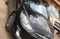 Hyundai Accent 2013 Petrol Automatic Black for sale