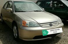 Honda Civic 2003 Gold for sale