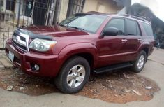 Toyota 4runner 2006 Red for sale