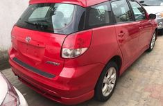 Foreign used Toyota Matrix 2006 red for sale