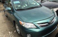 Toyota Corolla 2012 Green for sale