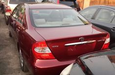 Clean New Drop Tokunbo Toyota Camry 2000 Model Red for sale