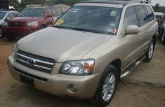 Used Toyota Highlander 2008 Brown for sale
