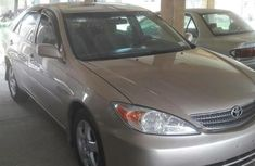 NEAT TOYOTA CAMRY 2005 GREY FOR SELL