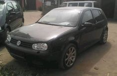 Volkswagen Golf 4 2004 black for sale