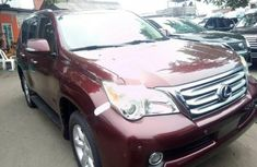 2010 Lexus GX red for sale in Lagos