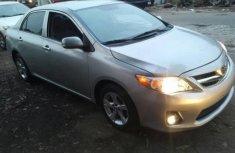 2012 Toyota Corolla silver for sale