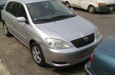 2002 Toyota Corolla Silver for sale