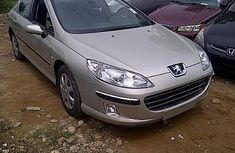 Foreign used Peugeot 407 2004 silver for sale
