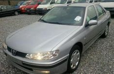 Foreign used Peugeot 406 2004 silver for sale