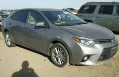 2015 TOYOTA COROLLA GREY FOR SALE
