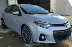 2016 TOYOTA COROLLA WHITE FOR SALE