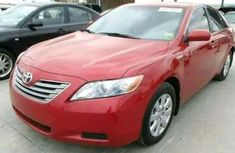 Toyota Camry 2016 Red for sale at auctioning price