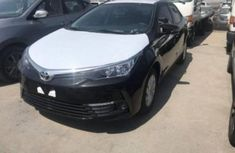 Toyota Corolla 2016 model Black for sale at auctioning price