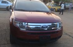 Clean Ford Edge SEL Plus 2002 Red for sale