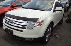 Ford Edge 2002 white for sale