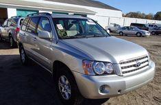2012 Used Toyota Highlander Silver for sale