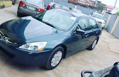 Used Honda Accord EOD 2004 blue for sale