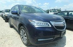 Tokunboh Used Acura MDX 2014 blue for sale