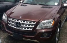 Clean ML 4Matic 350 Red 2010 for sale