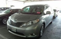 Tokunboh Used Toyota Sienna 2012 Silver for sale