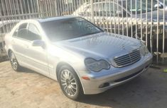 Tokunboh Used Mercedes-Benz 2004 silver for sale