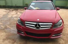 2008 Red Mercedes C32 for sale