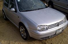 Tokunbo Volkswagen Golf4 2004 silver for sale