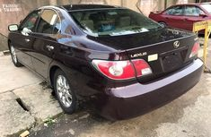 Foreign used Lexus ES330 2008 black for sale