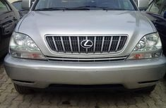 Foreign use Lexus Rx300 2004 silver for sale