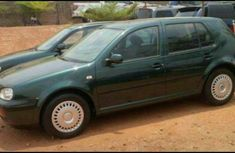 Stronge toms Volkswagen Golf4 2002 Green for sale