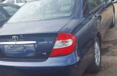 Foreign used Toyota Camry 2005 blue for sale