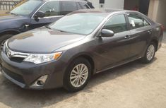 Clean Toyota Camry 2012 grey for sale