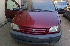 Foreign used Toyota Sienna 2003 Red for sale