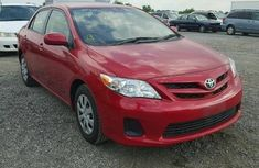 TOYOTA COROLLA 2008 RED IN GOOD CONDITION FOR SALE