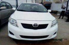 Toyota Corolla 2012 White for sale