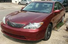 Toyota Camry 2006 model Red for sale