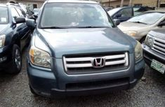 HONDA PILOT IN GOOD CONDITION 2010 BLUE FOR SALE