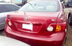 Toyota Corolla 2009 Petrol Automatic Red for sale