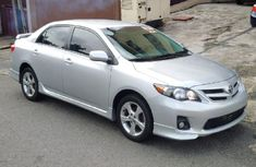 Tokumbo Toyota Corolla 2012 Silver for sale with full option