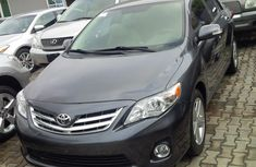 2012 Toyota Corolla Grey for sale with full option