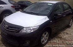Clean 2012 Toyota Corolla Black for sale with full option