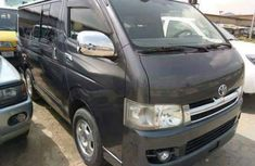Toyota Haice bus 2008 black for sale