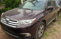 2012 Toyota Highlander RED for sale with full option