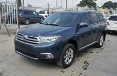 Toyota Highlander Reviewed 2012 blue for sale with full option
