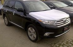 2012 Toyota Highlander Black for sale with full option
