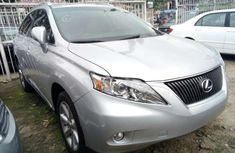 Foreign used Lexus Rx350 2011 Silver for sale